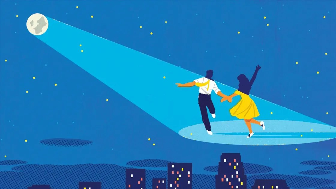 Cartoon Boy And Girl Love Wallpaper Fun In La La Land The New Yorker
