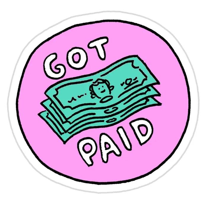 freelance achievement stickers the