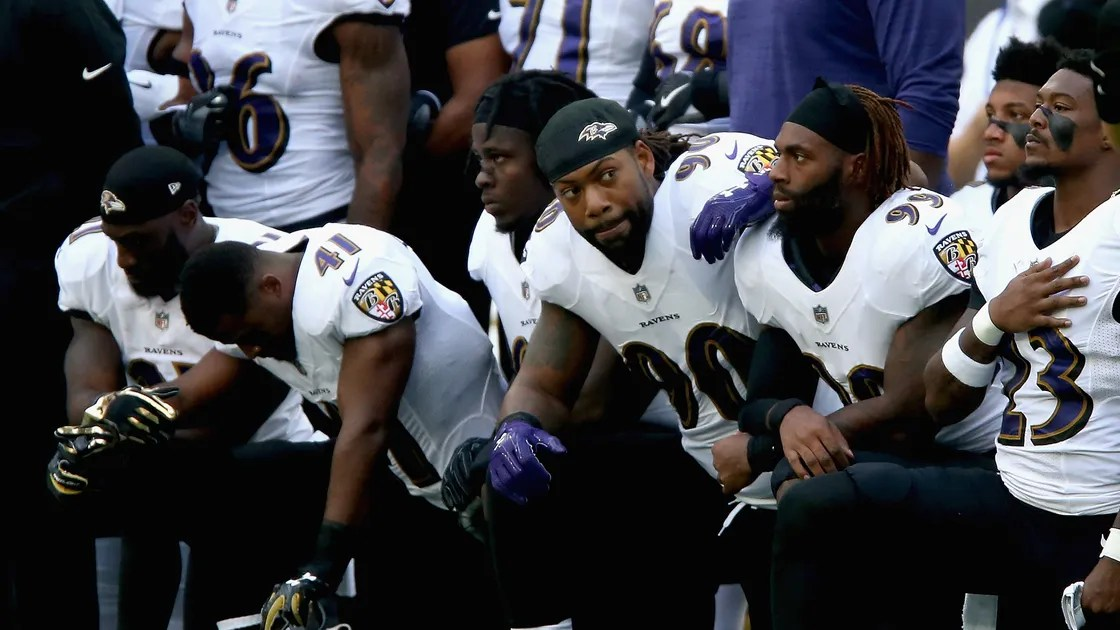 What Does It Mean When Athletes Kneel During The National