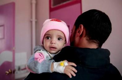 saudi arabia starves yemeni children