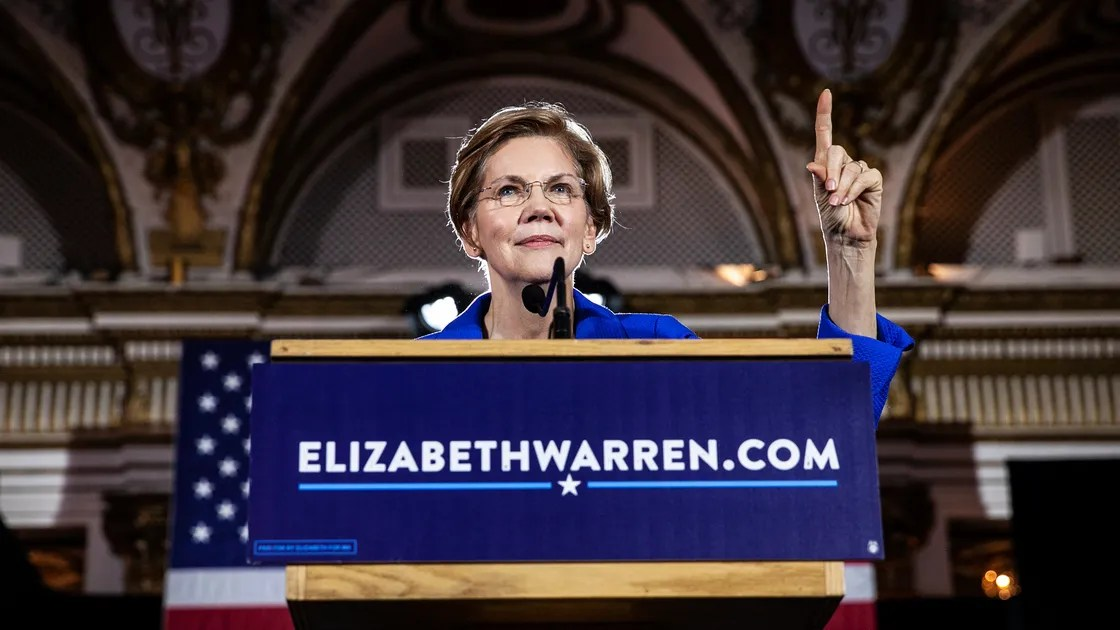 Elizabeth Warren Steps Forward The New Yorker