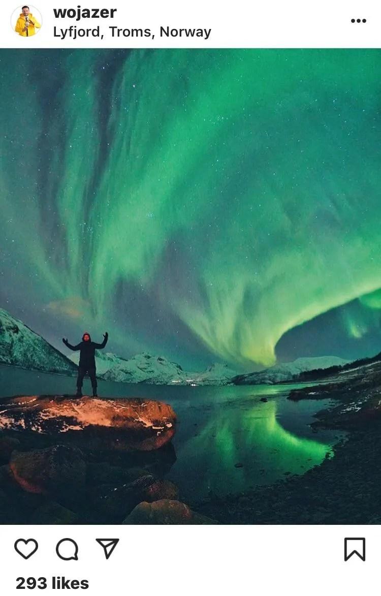 chasing the aurora borealis