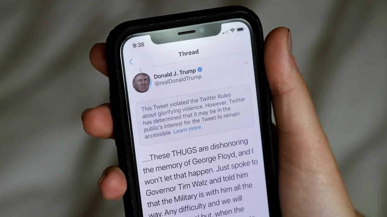 sur YT:  Trump, Twitter, Facebook et l'avenir du discours en ligne  infos