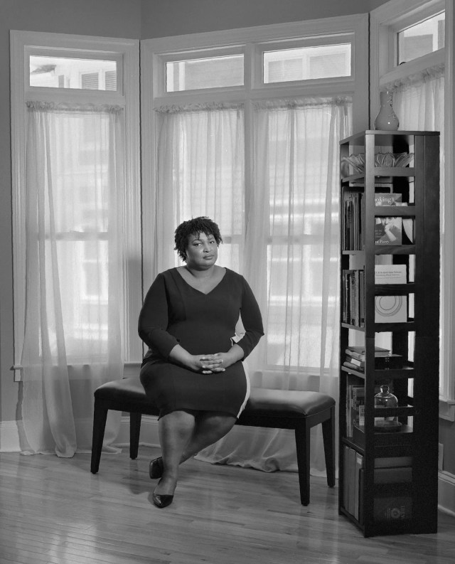 Portrait of Stacey Abrams