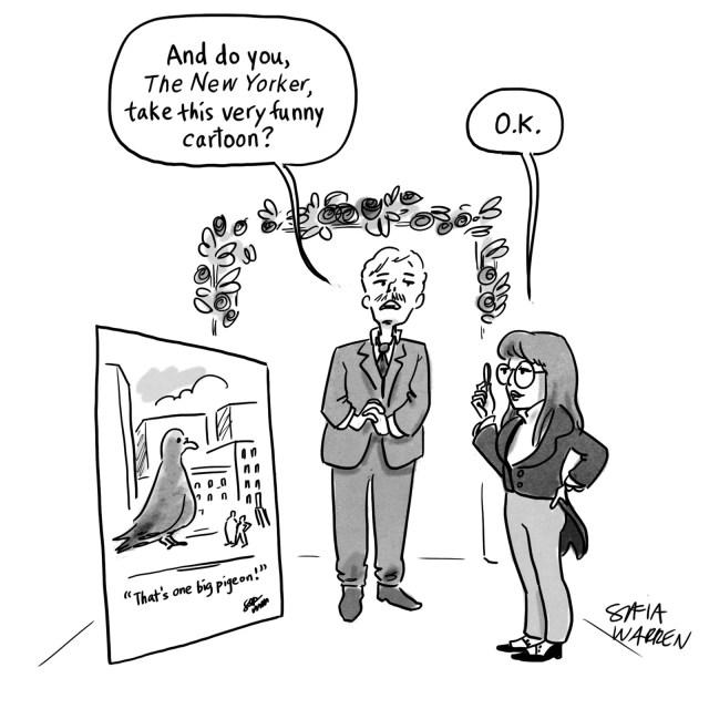 Emma marries a cartoon.