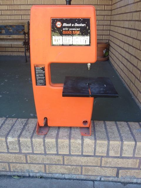 Black And Decker Drill Powered Bandsaw
