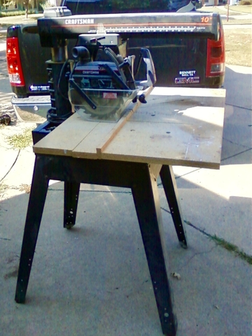 Radial Arm Saw Projects