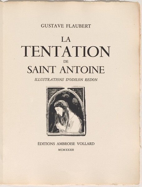La Tentation De Saint Antoine (flaubert) : tentation, saint, antoine, (flaubert), Tentation, Saint, Antoine