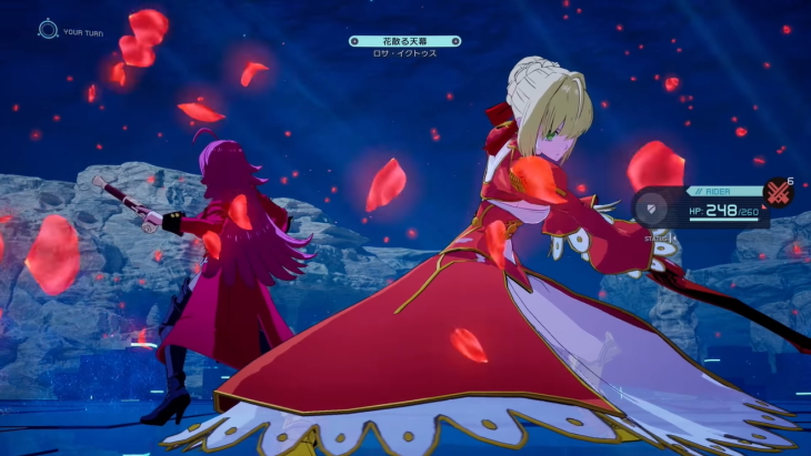 More detail about Fate/EXTRA Record gameplay is here!