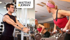 Mattias och Johan personlig träning på nätet