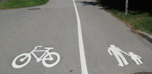 Cykelbana Gångbana