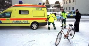 cyklist skadad