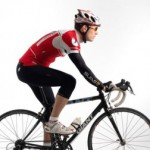 Cykelställning i uppförsbacke