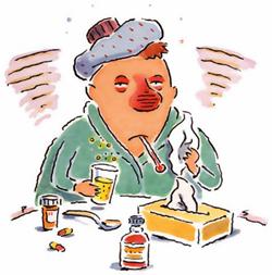 sjuk förkylning immunförsvar