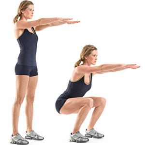 squats knäböj