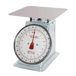 Kitchen Scales Restoring Cabinets Weighstation Platform F173 Buy Online At Nisbets Scale Flat Top 10kg 22lbs Gradation 50g 1oz