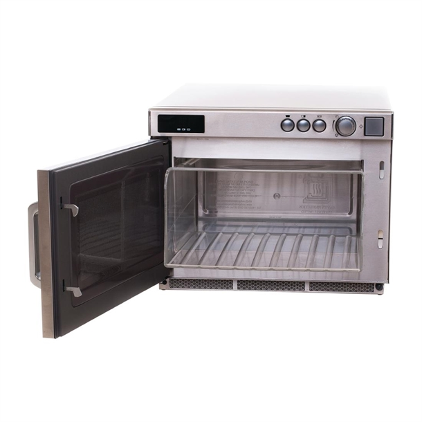 panasonic commercial microwave 17ltr 1800w ne1843 with liner