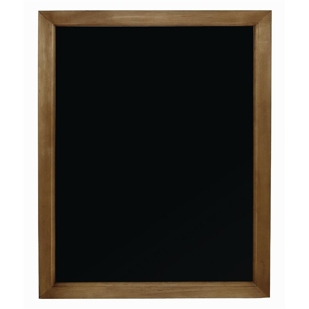 olympia wood frame chalkboard