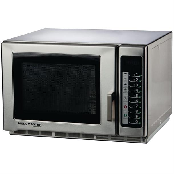 menumaster large capacity microwave 34ltr 1800w rfs518ts