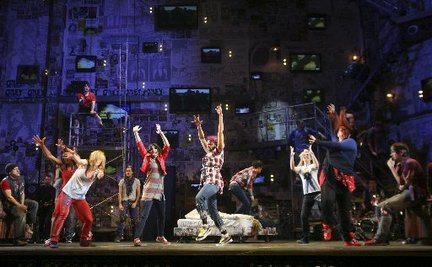 Green Days American Idiot takes on new life as musical
