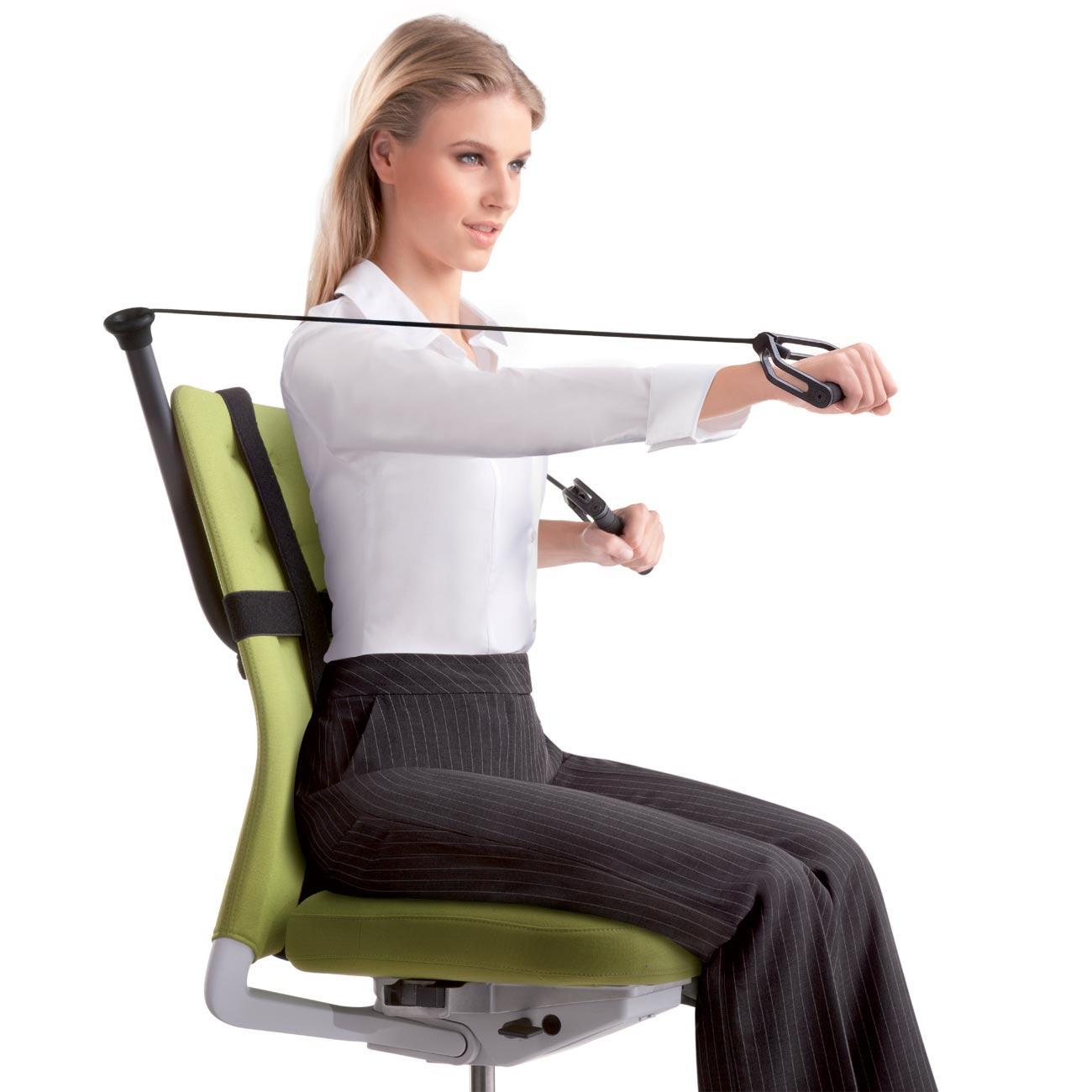 Office Chair Exercises Office Fitness Active Sitting Is The Start Of Working Out