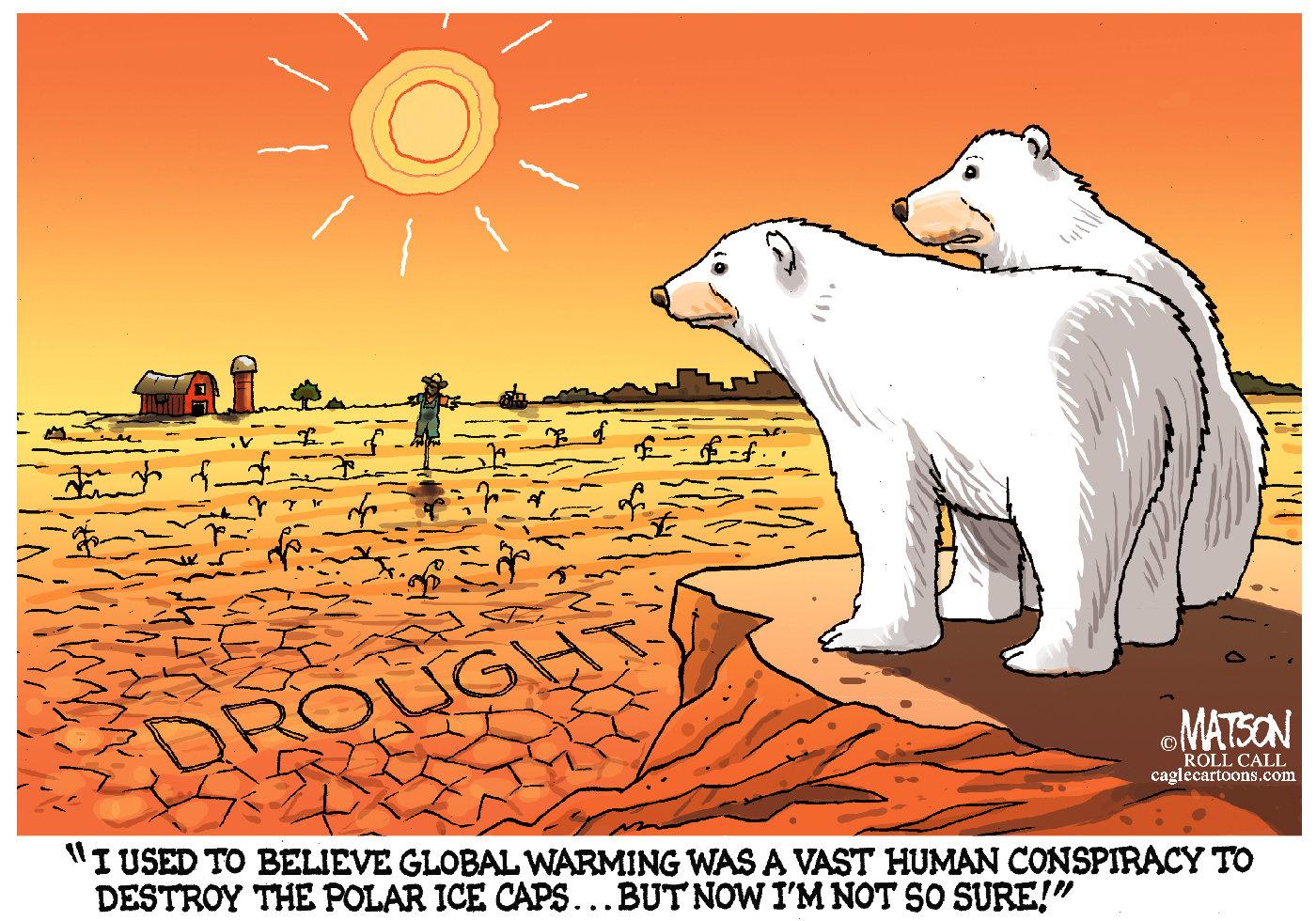 Editorial cartoons Drought  NJcom
