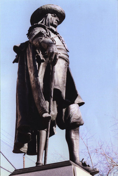 Legends & Landmarks: Statue of Peter Stuyvesant