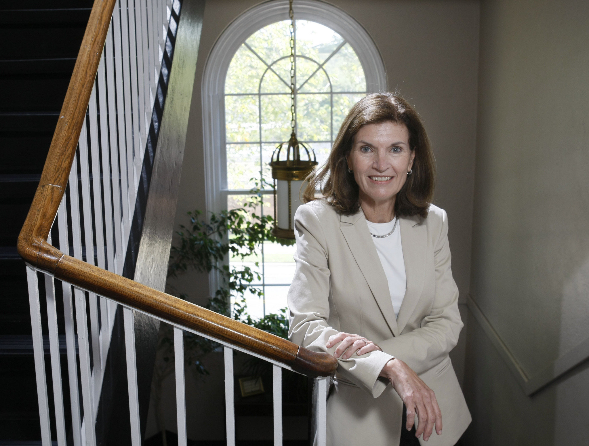 The first lady of Rutgers Wife of universitys new