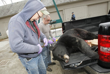 Why did N.J. extend the 2015 bear hunt?