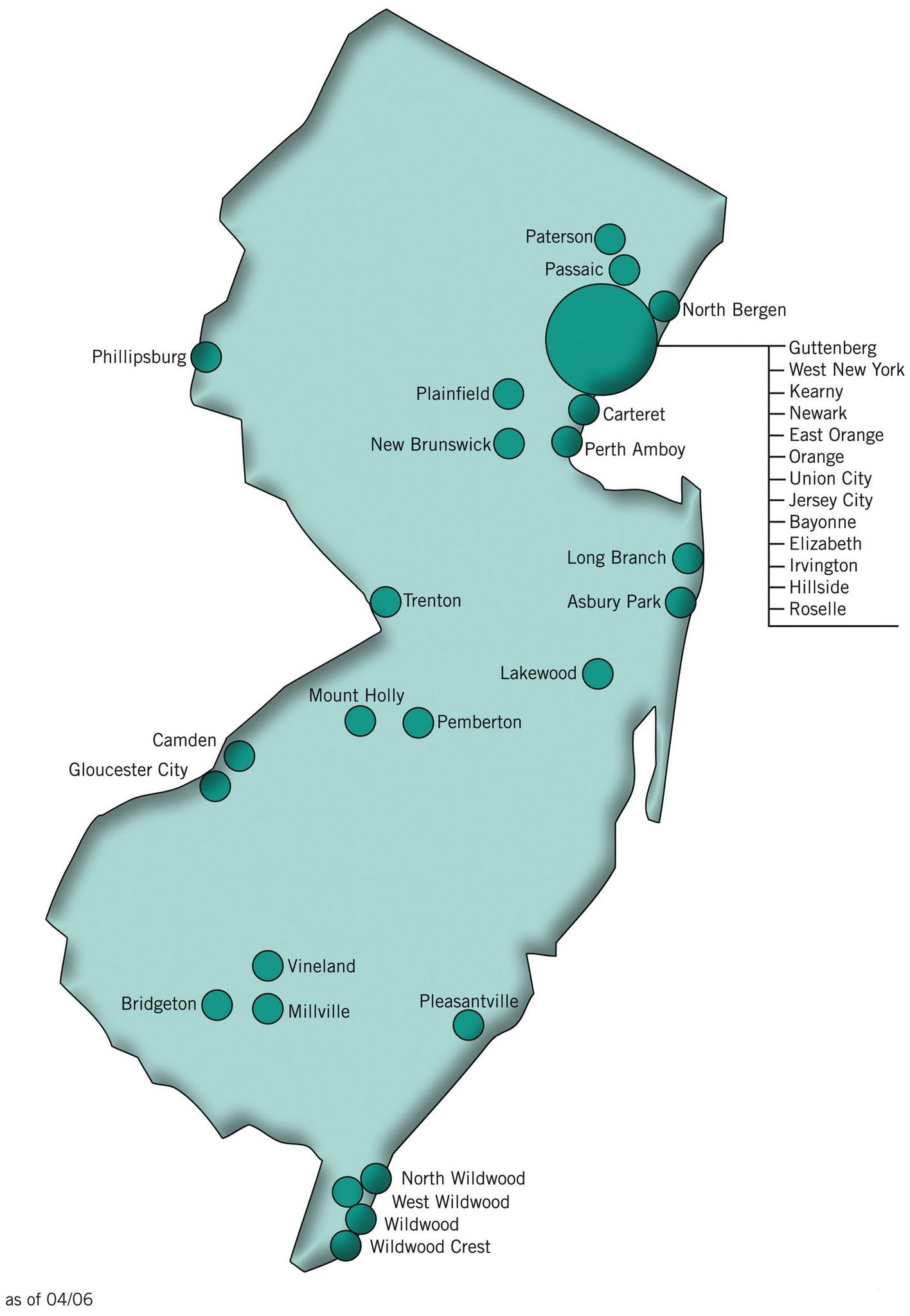Jersey City Sales Tax : jersey, sales, Budget, 2011:, Funding, Scaled, Business, Discount, Areas, Nj.com