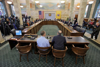 Senate Judiciary Committee Votes on Gay Marriage Rights Bill 1-24-2012