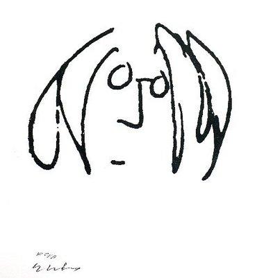 John Lennon's artwork on display in Princeton's Palmer