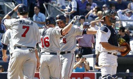 Jason Kubel Twins grand slam Mariano Rivera Yankees
