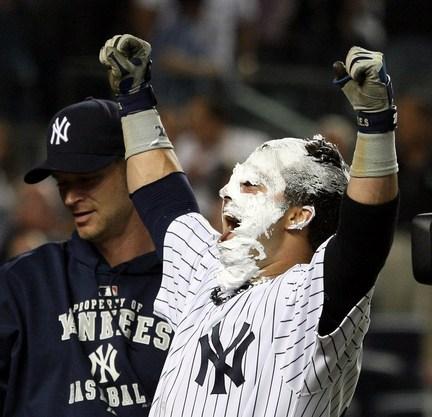 Nick Swisher pie Yankees