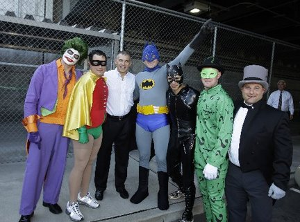 Yankees batman hazing rookies