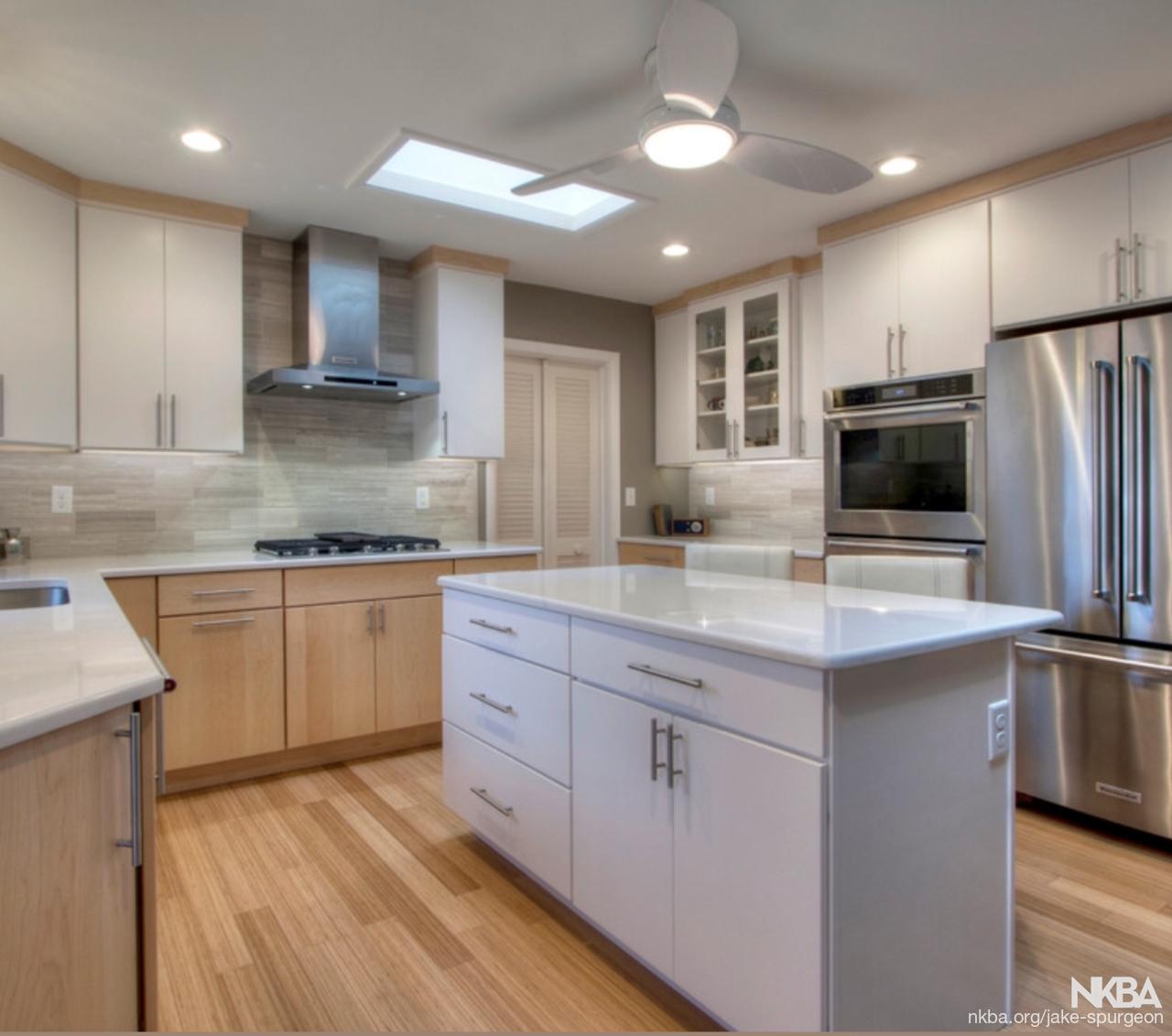 Modern Mid Century Kitchen  NKBA