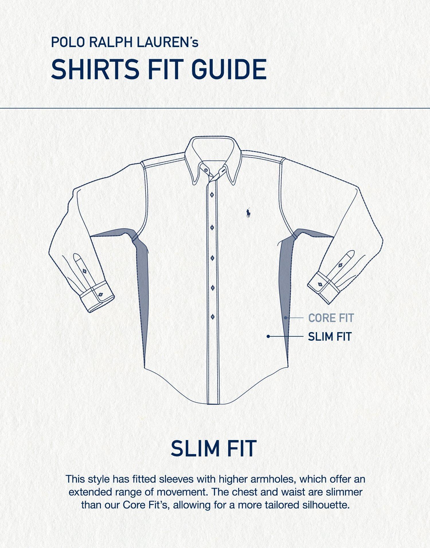 medium resolution of slim fit denim shirt