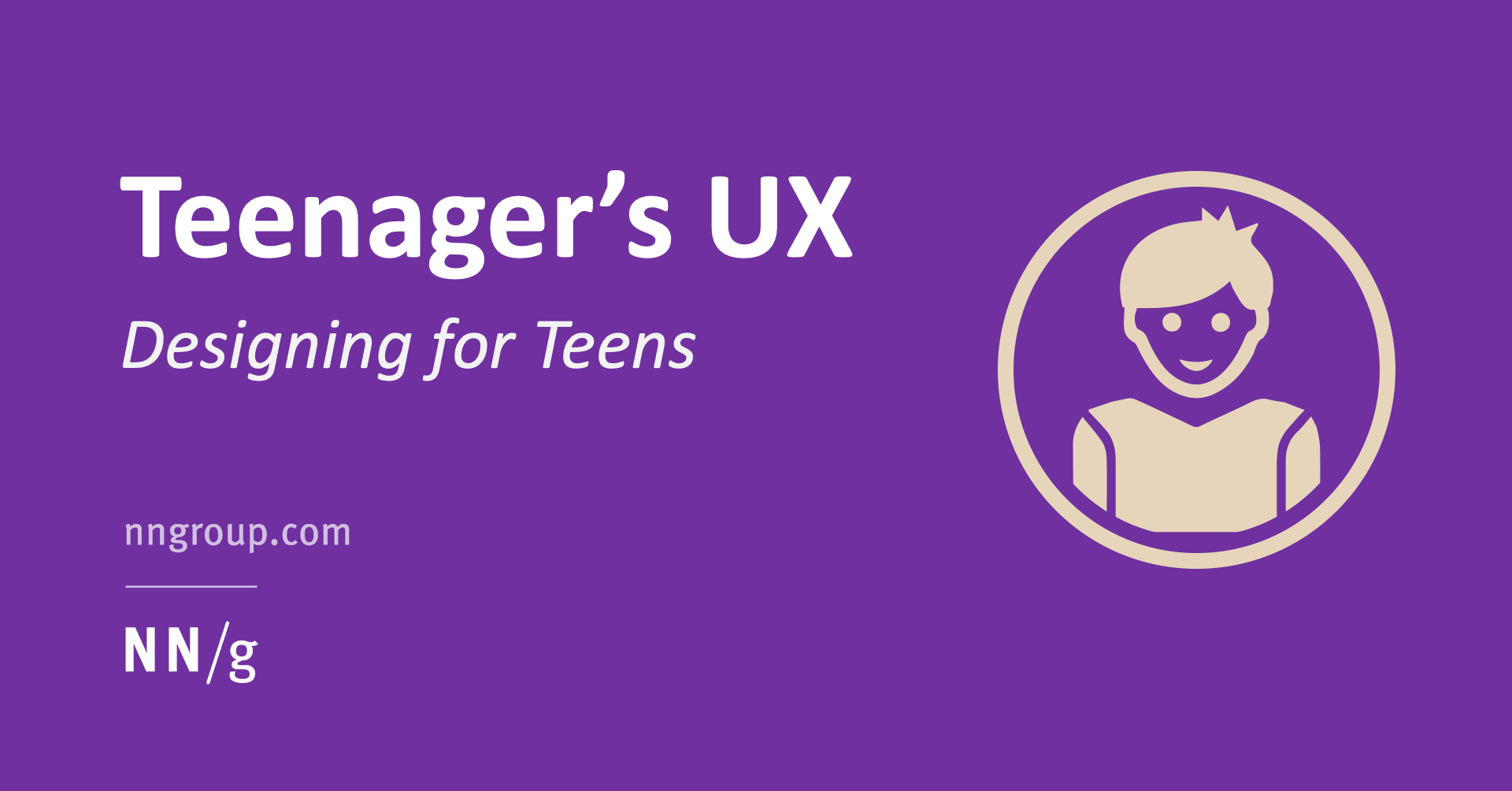 Teenager S Ux Designing For Teens