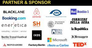 Partner e sponsors - Raccolta di Loghi di aziende e media