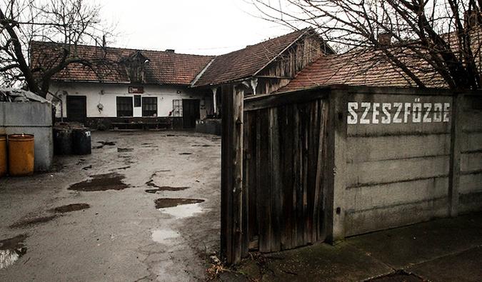 Szeszföde distillery in Mezöberény, Hungary