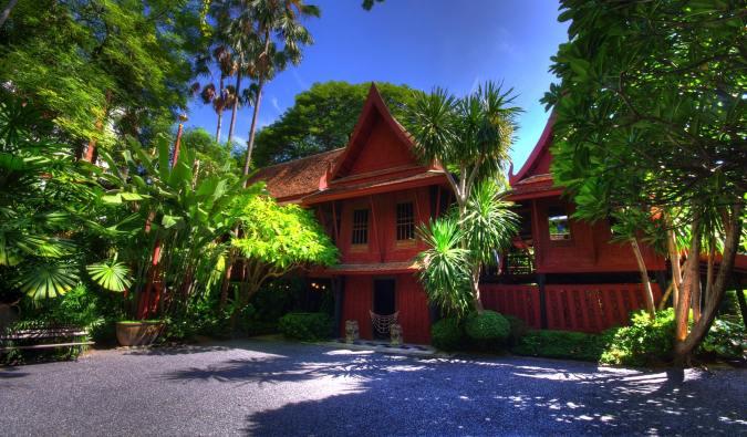 The historic Jim Thompson's house in Bangkok, Thailand
