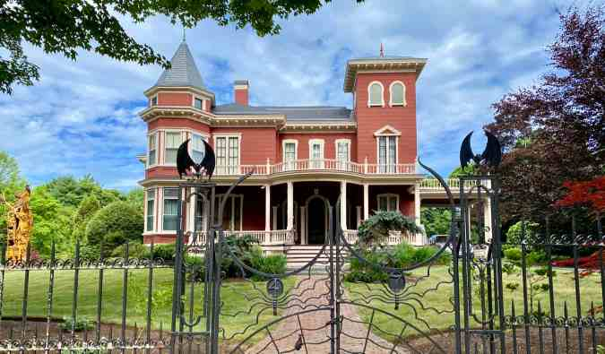 Stephen King's house in Maine, USA