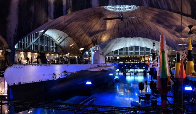 The Estonian Maritime Museum in Tallin, Estonia