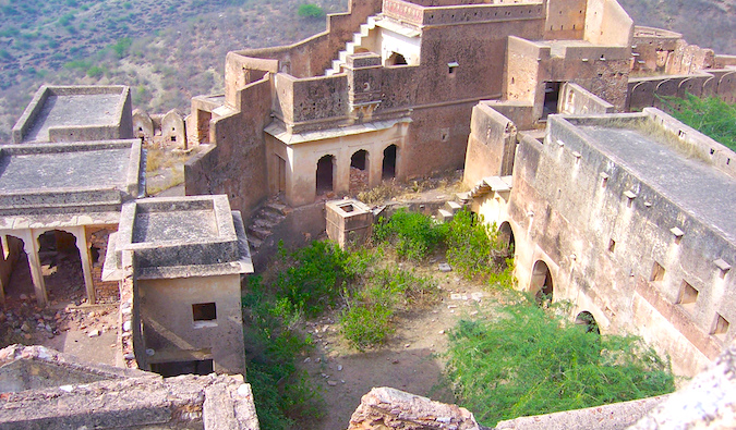 ruins in Bundi