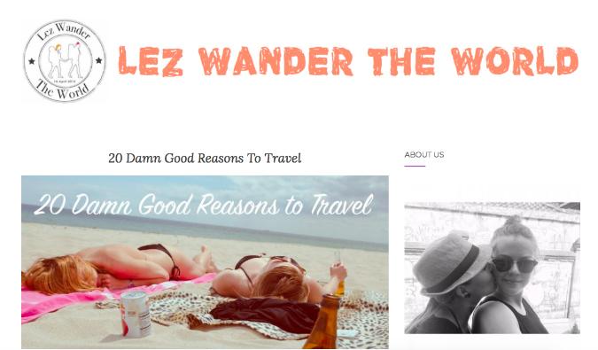 Lez Wander the World