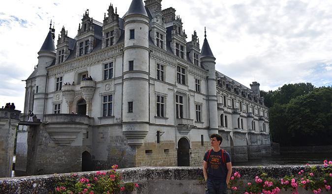 Matt in the Loire Valley