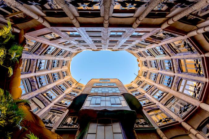 La Pedrera Barcelona by Laurence Norah