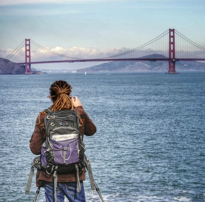 Photographing the Golden Gate Bridge in San Francisco CA