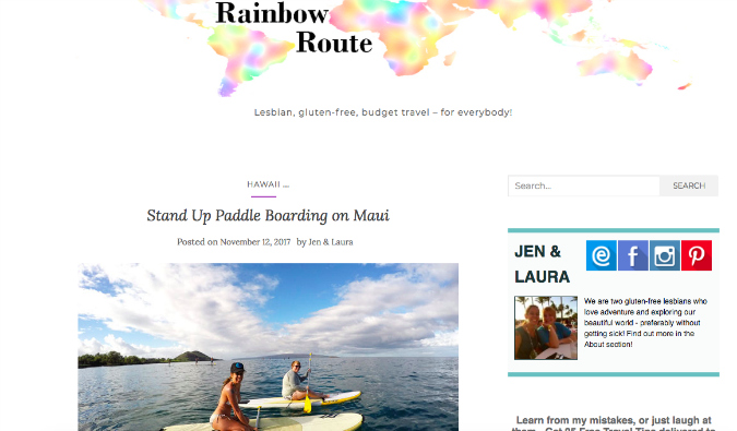 The Rainbow Route
