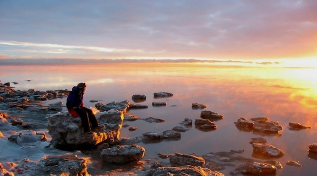 Why I Travel Alone Watching The Sunset Alone In A National Park In Alaska